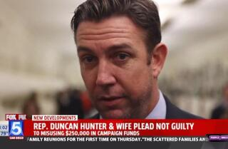 Rep. Duncan Hunter and wife plead not guilty to charges of fraudulent campaign spending