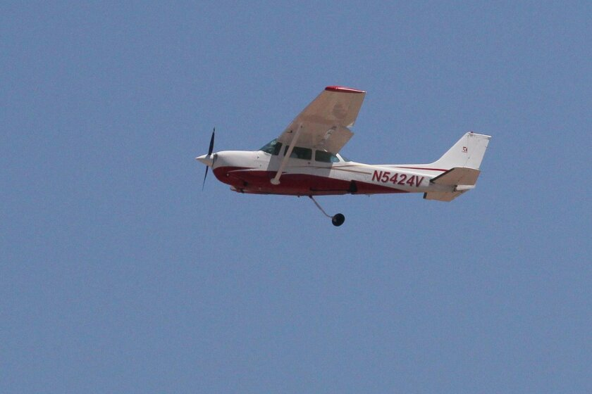 Cessna pilot makes belly-landing at Montgomery Field - The San Diego