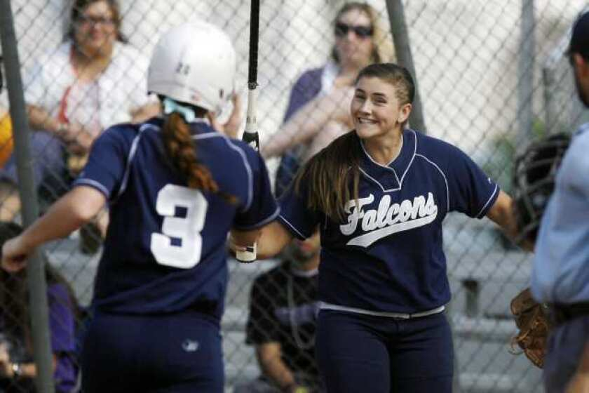 Crescenta Valley High softball pushes back for win over Hoover