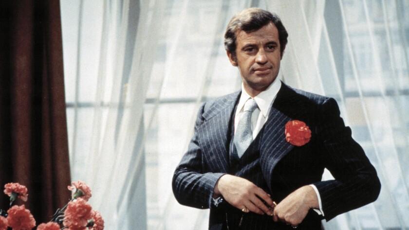 """Jean-Paul Belmondo in the 1974 film """"Stavisky."""""""