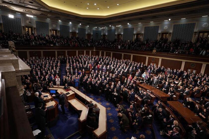 Vista general del Congreso en Washington (Estados Unidos). EFE/Archivo