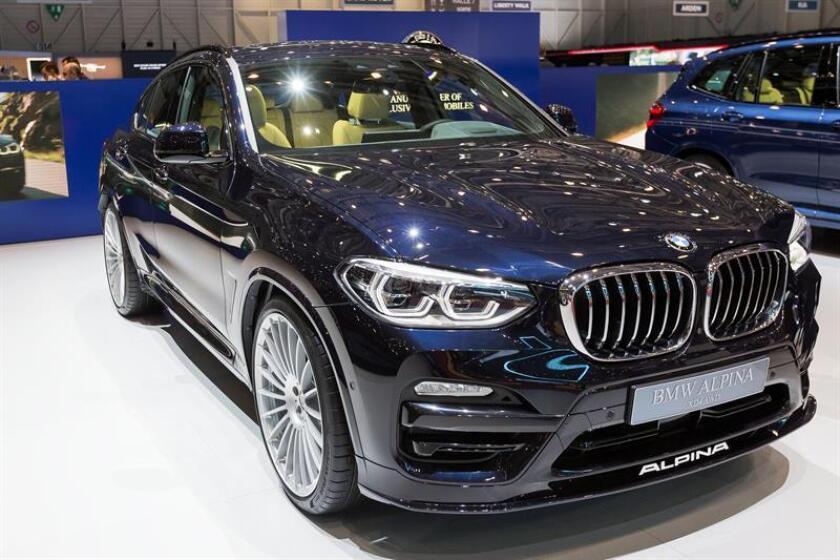 Este es el quinto año consecutivo en que la marca alemana de lujo BMW es el mayor exportador de automóviles de Estados Unidos. EFE/Archivo