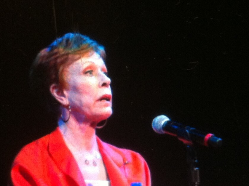 Carol Burnett talks family, and belts out the Tarzan yell