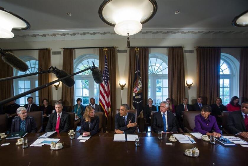 La Cámara de Representantes federal aprobó hoy por amplia mayoría un proyecto de presupuesto de Defensa por valor de 619.000 millones de dólares, por encima de lo que solicitaba el gobierno del presidente Barack Obama. EFE/ARCHIVO