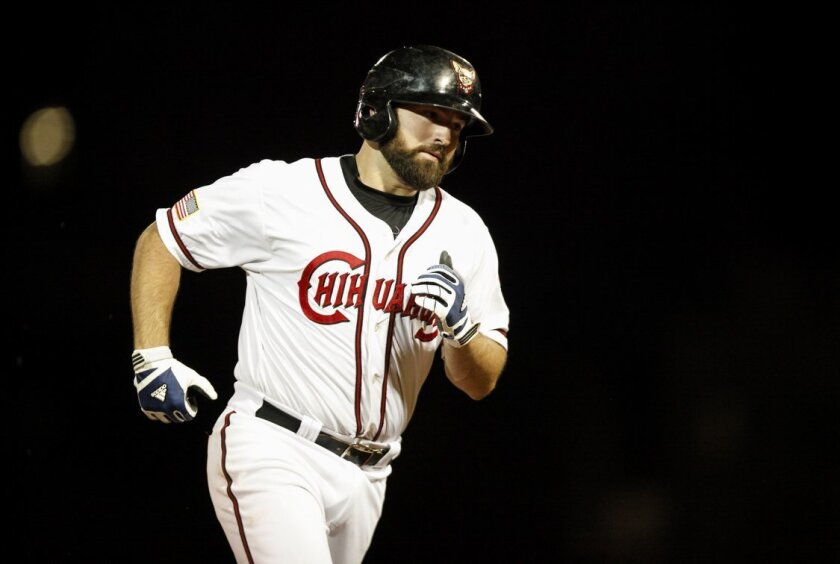 Triple-A El Paso's Cody Decker leads all Padres minor leaguers with 22 home runs as of Aug. 22.