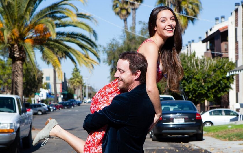 "Laura Kaplan-Nieto and Michael Nieto appear in ""Bon Voyage,"" one of the stories from ""San Diego, I Love You."""