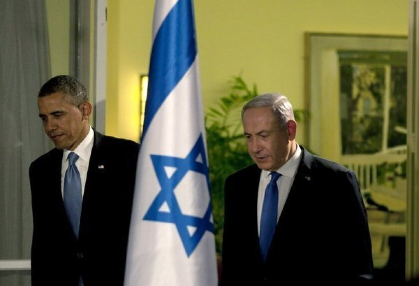 Obama overdoes the U.S.-Israel comparison