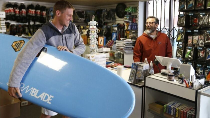 How do you run a surf shop when sewage spills constantly