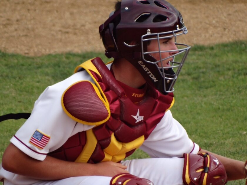 Former Torrey Pines baseball standout C.J. Stubbs doesn't know which position he'll play at USC, catcher, pitcher, infield or outfield, but he's open to all possibilities. Courtesy photo