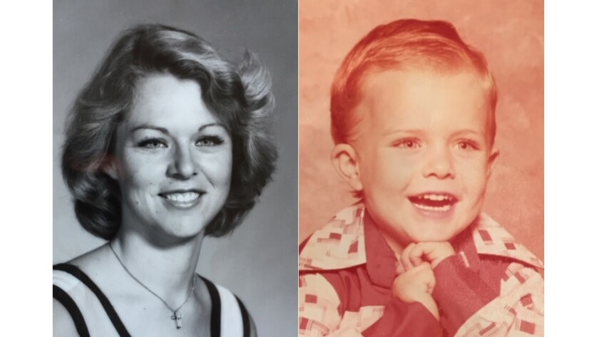 Photos of Rhonda Wicht, 24, and her son Donald, 4, who were murdered on Nov. 11, 1978, in Simi Valley. Craig Coley, an ex-boyfriend of Wicht, was convicted of the crimes and served nearly 39 years in prison before being exonerated on DNA evidence in November 2017.