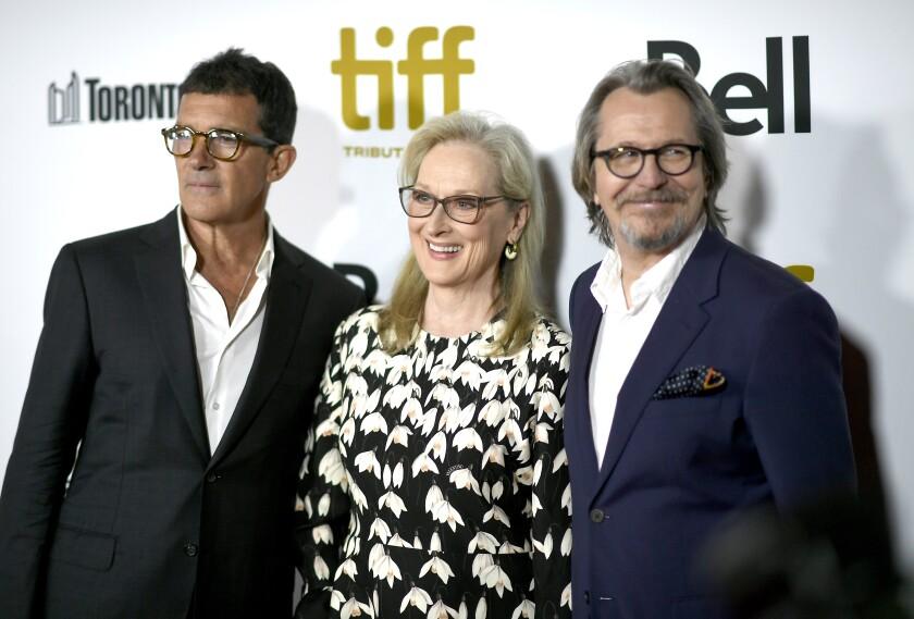 Antonio Banderas, Meryl Streep and Gary Oldman