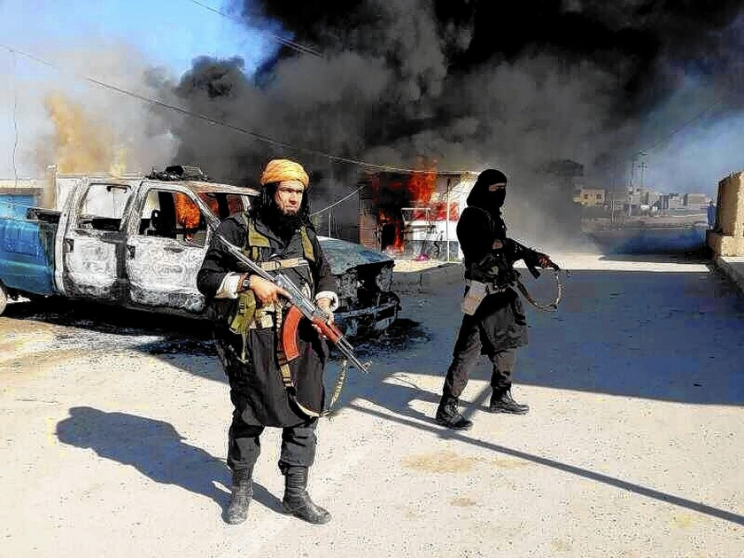 Islamic State of Iraq and Syria militants