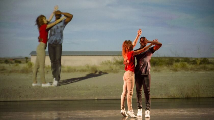 L.A. Dance Project: An image from Orpheus Highway, choreographed by Benjamin Millepied. Photo credit