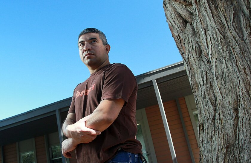 """UCSD employee Stephen Cruz, says he is being bullied on the job at UCSD and is coming forward in light of AB 2053 a bill assemblywoman Lorena Gonzalez introduced , which simply adds """"abusive conduct"""" to the required biannual 2-hour training in sexual harassment for supervisors of all employers in California with more than 50 employees."""
