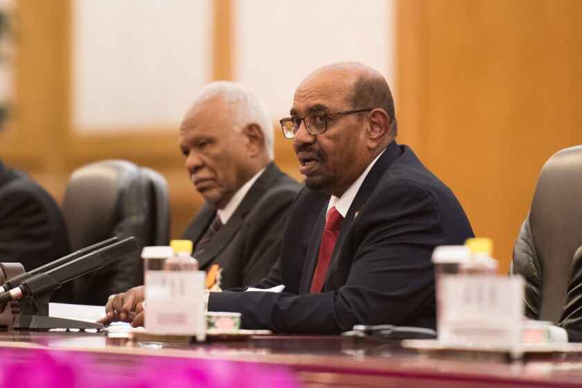 Sudan has undergone Islamization in recent decades under President Omar al-Bashir (pictured), who is wanted by the International Criminal Court for genocide charges linked to the conflict in Darfur dating back to 2003.