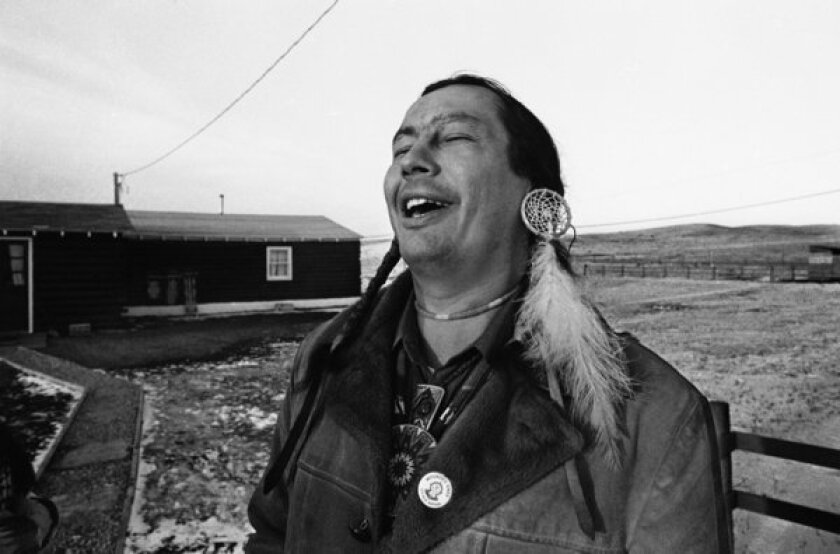 Russell Means dies at 72; American Indian rights activist, actor