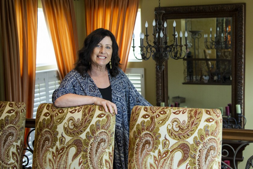 Huntington Beach resident Therese Allison was a leader in the business world before retiring in 2004.