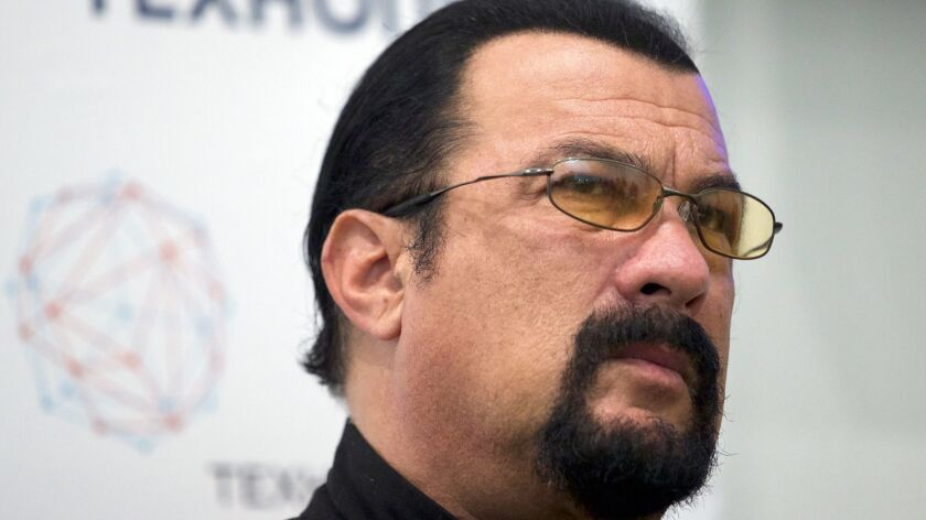 Actor Steven Seagal, in a 2015 file photo, will not face criminal charges related to allegations of a 2002 sexual assault.
