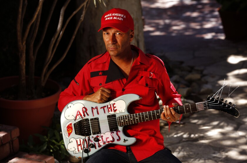 """Was it possible to forge a guitar into a divining rod of truth and fury?"" writes Tom Morello."