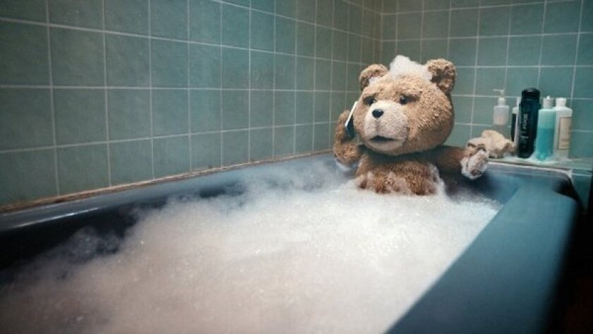 """""""Ted"""" was the No. 1 movie at the box office this weekend."""