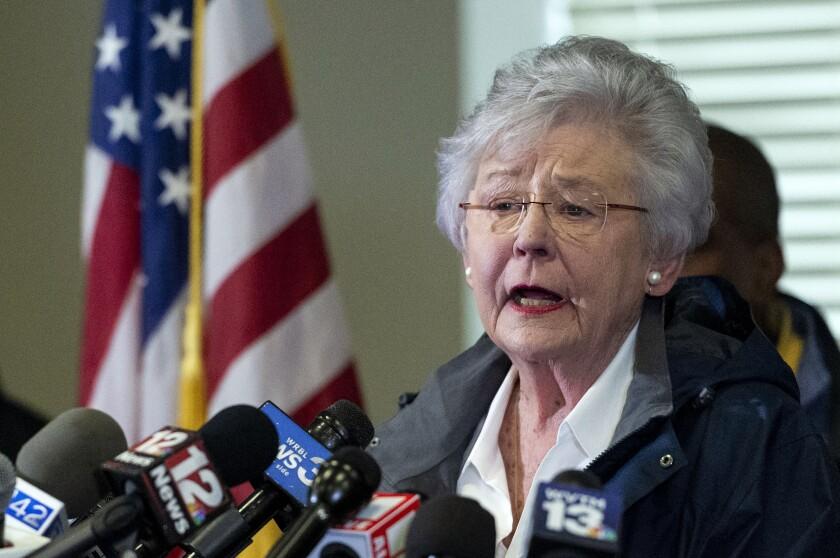 Alabama Governor Cancer