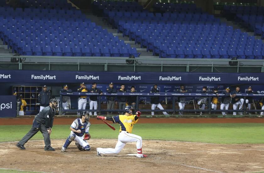 Virus Outbreak Taiwan Baseball