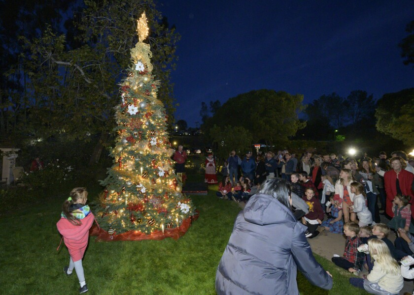 The RSF Golf Club holiday tree lighting