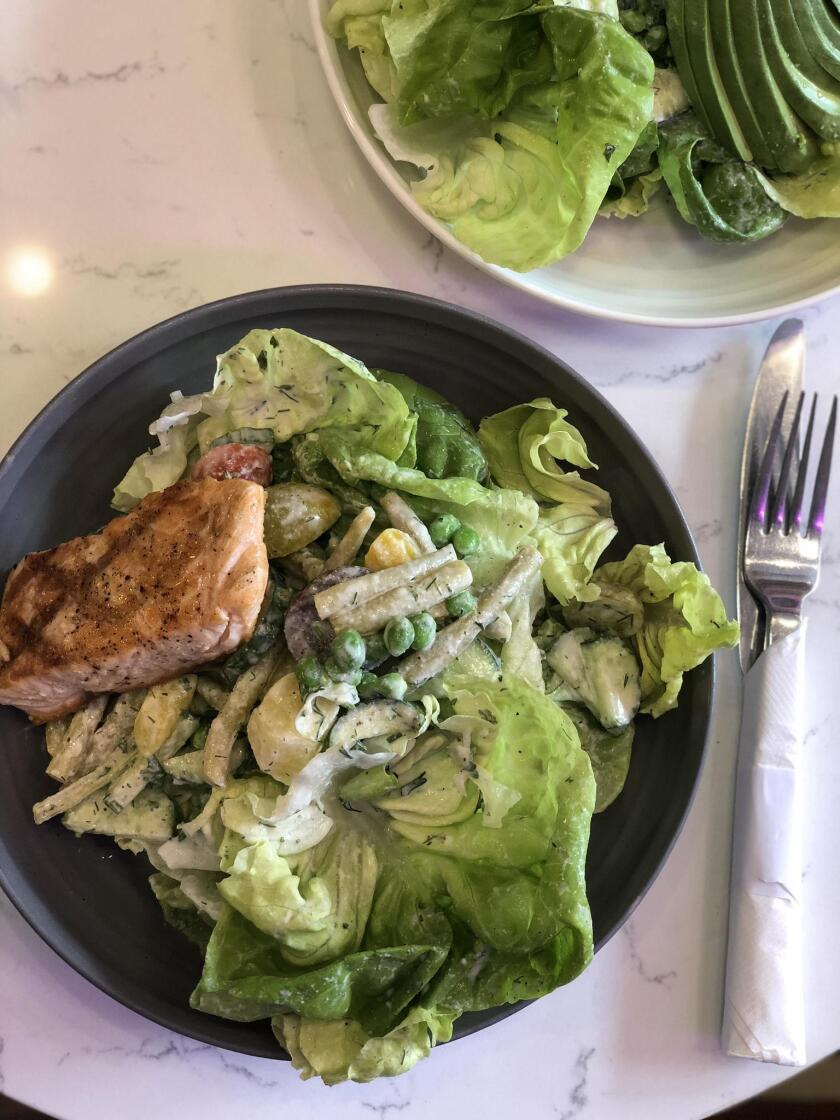 Parakeet Café's The Perfect Salad