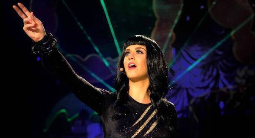 """Katy Perry in a scene from her 3-D film, """"Katy Perry: Part of Me."""""""