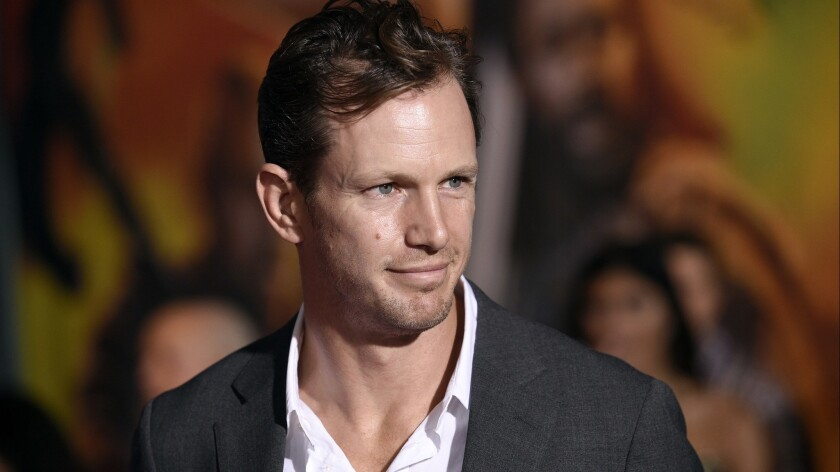 """Kip Pardue arrives at the world premiere of """"Thor: Ragnarok"""" at the El Capitan Theatre in 2017."""