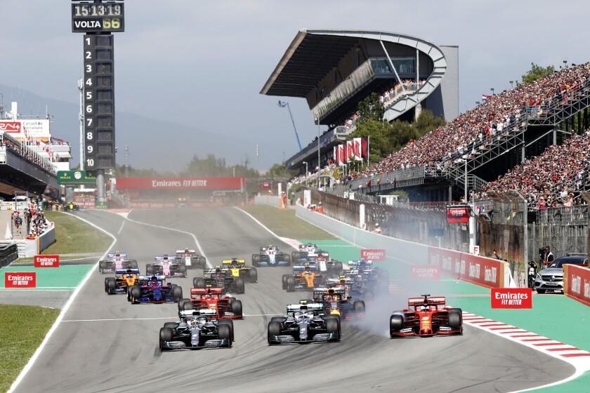 Spain F1 Reducing Fees