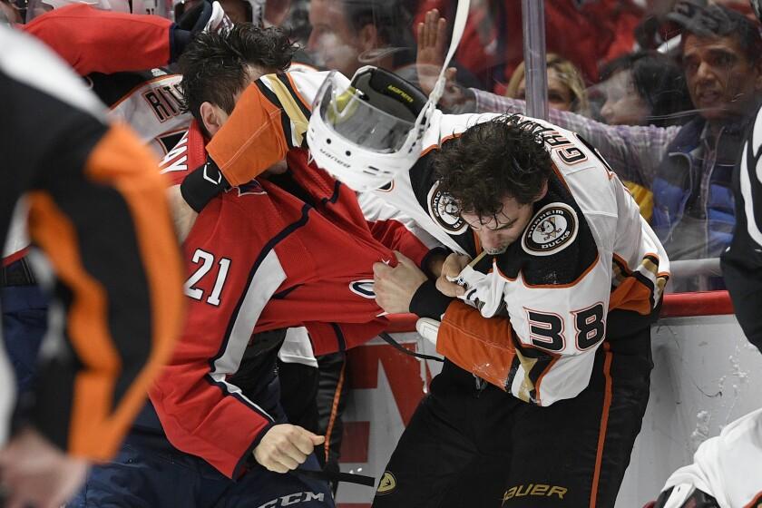 Ducks Capitals Hockey