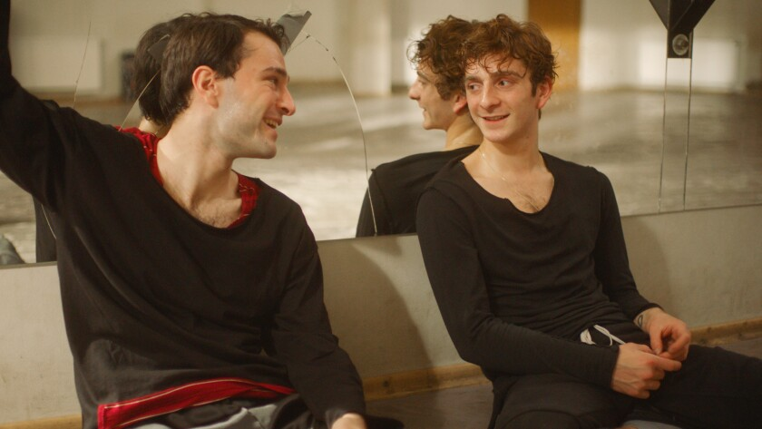 "Bachi Valishvili and Levan Gelbakhiani in the movie ""And Then We Danced."""