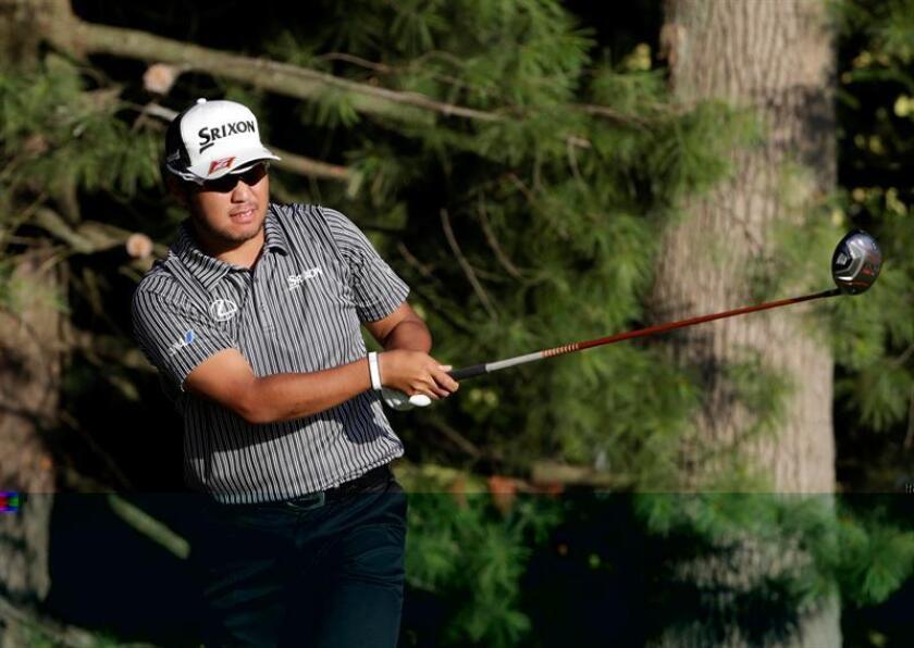 En la imagen, el golfista japonés Hideki Matsuyama. EFE/Archivo