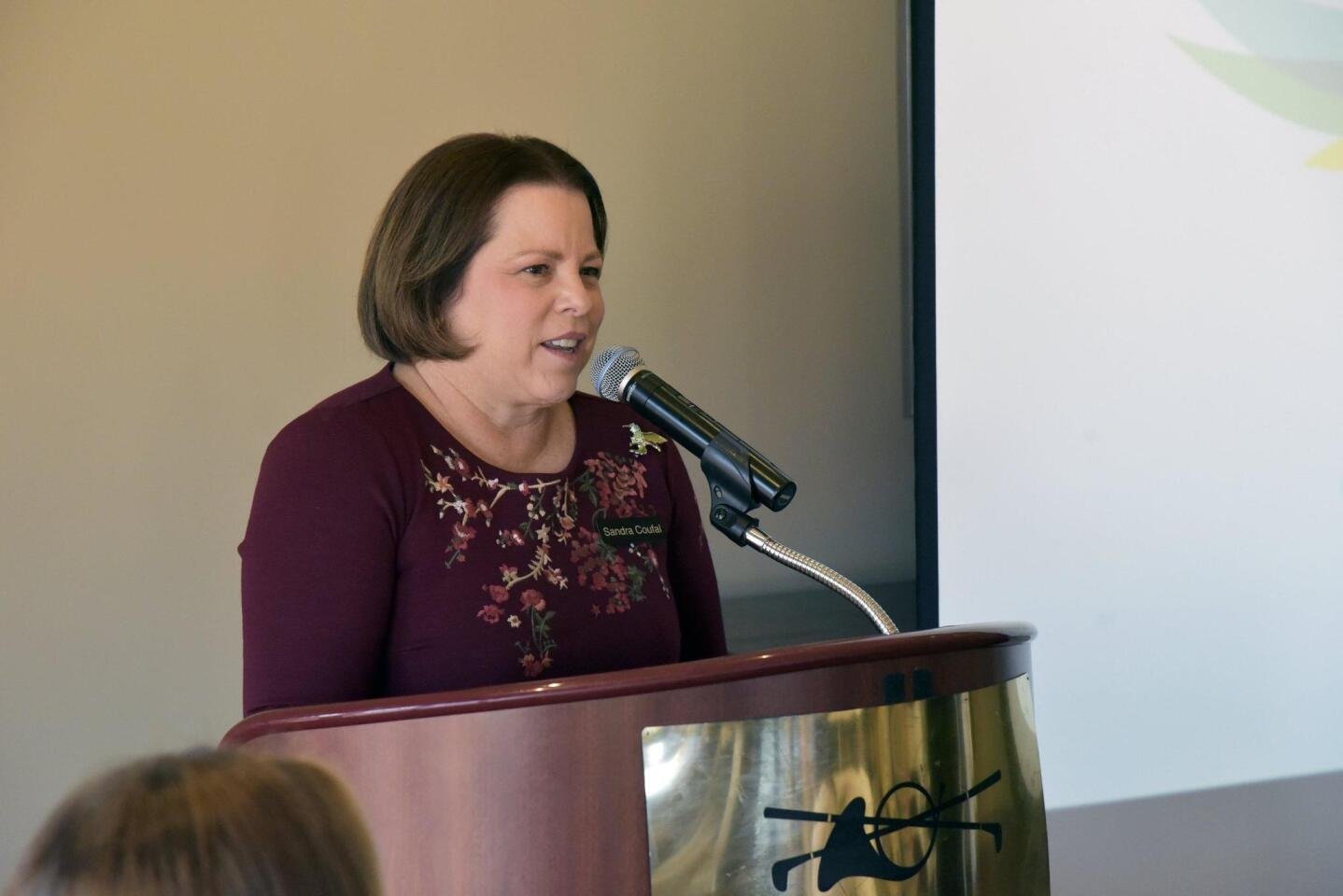 Rancho Santa Fe Women's Fund President Dr. Sandra Coufal
