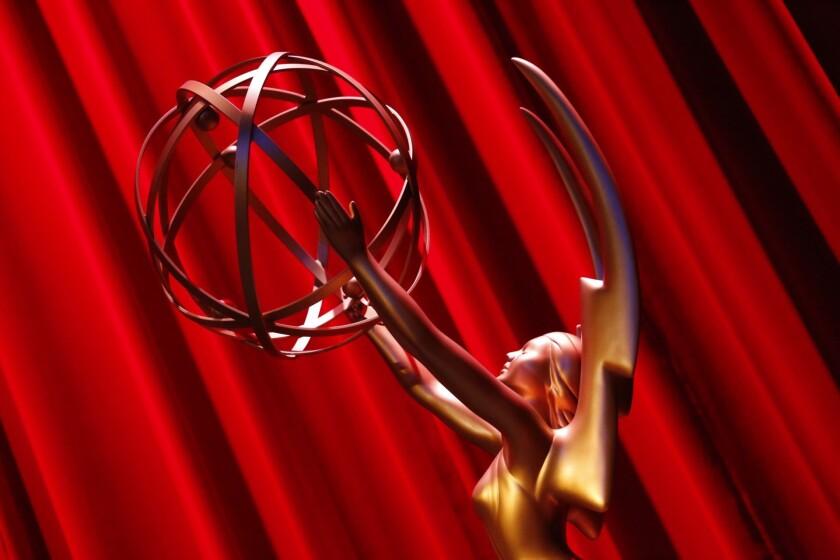 Emmy statuette.