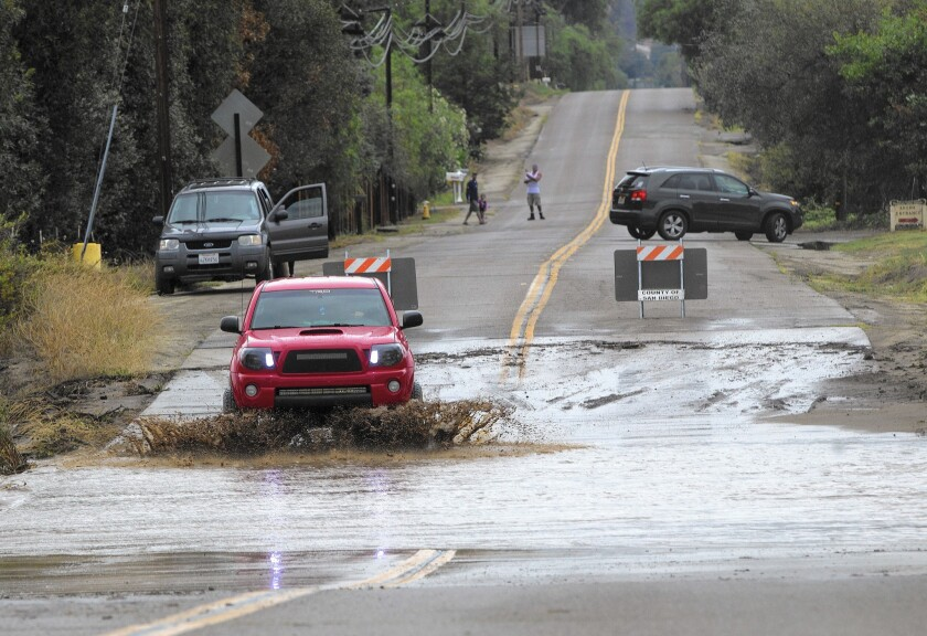 Floods can rise slowly or quickly. It takes only 2 feet of water to float a large vehicle, officials warn.