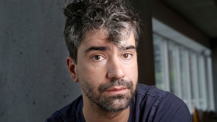 """Hamish Linklater, writer of the new play """"The Whirligig."""""""