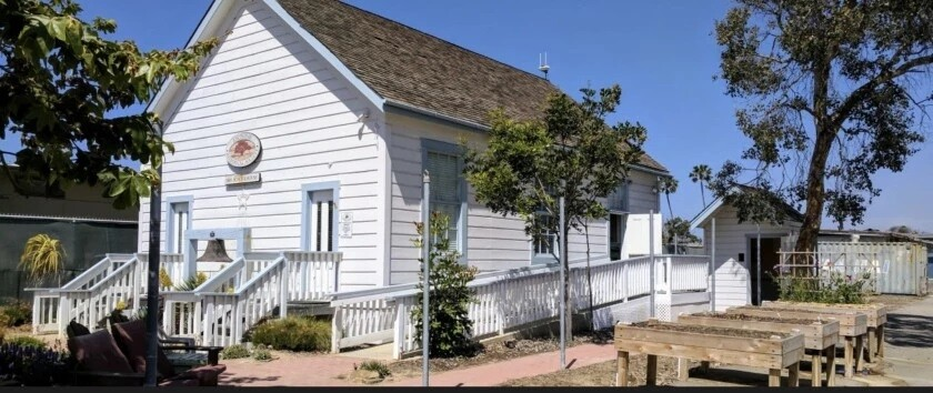 The Encinitas Historical Society 1883 Schoolhouse