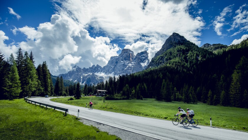 Test your cycling mettle with a ride across Europe on the Julius Caesar expedition.