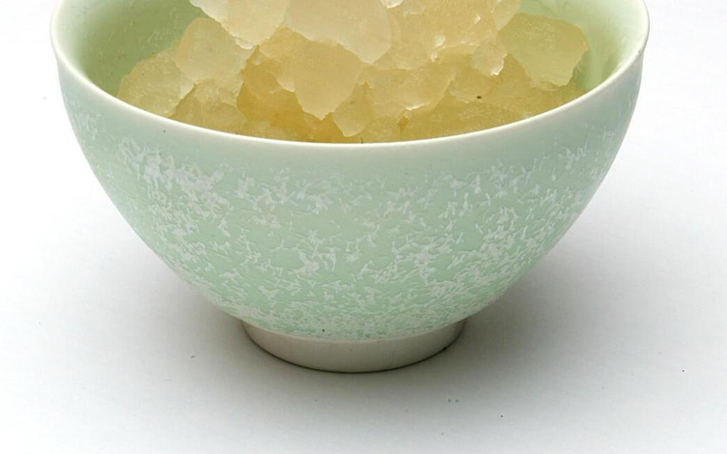 Jasmine tea ice