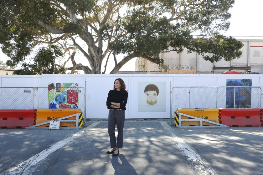 Kathryn Kanjo, the executive director of the Museum of Contemporary Art San Diego in La Jolla