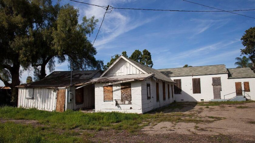 Preservationists say the owner of the Historic Wintersburg property in Huntington Beach is looking to sell it to Public Storage. The lot is at Warner Avenue and Nichols Lane.