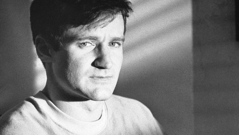 """Robin Williams as T.S. Garp in the 1982 film """"The World According to Garp."""""""