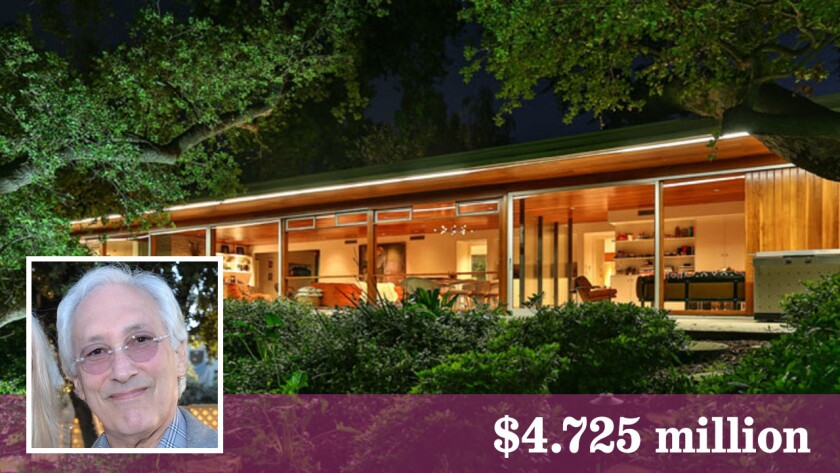 TV writer Steven Bochco has sold his Richard Neutra-designed trophy home in Encino.