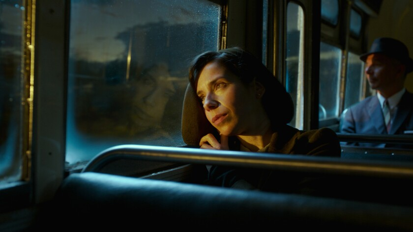 """Sally Hawkins in the film """"THE SHAPE OF WATER."""" Credit: Kerry Hayes / Fox Searchlight Pictures"""
