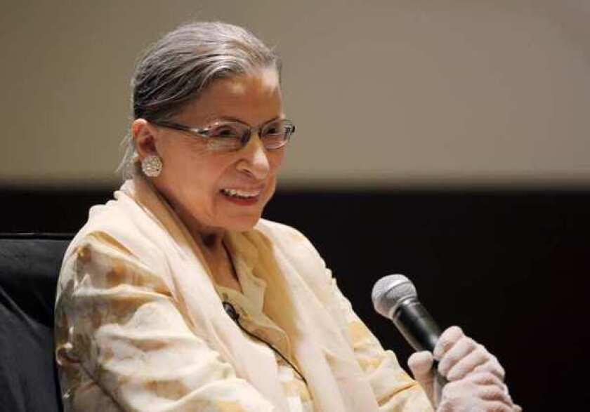 Supreme Court Justice Ruth Bader Ginsburg, who died Friday at the age of 87.