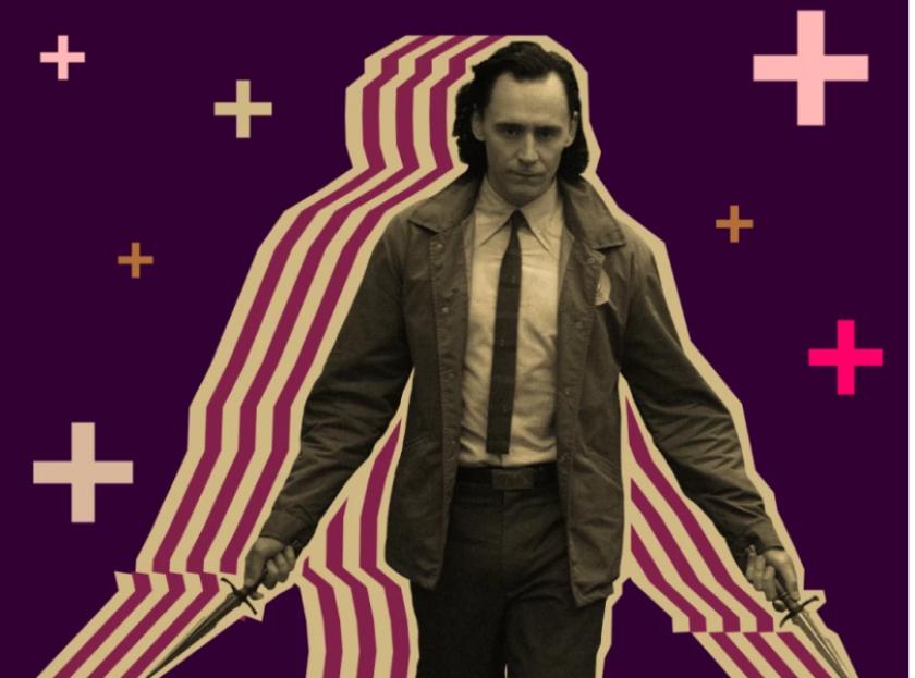 """""""Loki"""" de Disney+ es emblemático de cómo la estrategia de Disney se diferencia de la de Netflix."""