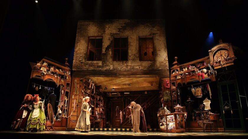 """The scenic design of San Diego Opera's upcoming """"Cinderella"""" production has the look of 1830s England."""