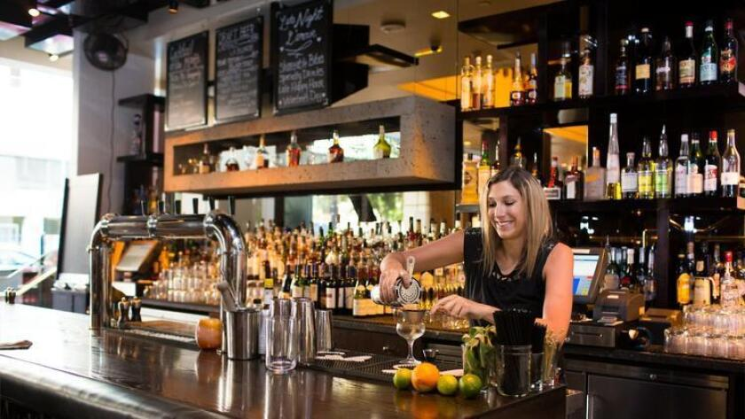 Saltbox Restaurant & Bar offers a chic respite from the downtown streets. The gastro-lounge prides itself on pushing the envelope in cuisine and libations, capturing the best of comfort classics done up with a twist. Guests can order the short rib poutine, buttermilk fried chicken, mac and cheese with braised pork belly and flavorful flatbreads like the bacon n' brussels option. Signature cocktails are intended to pair perfectly here, so pick your poison and sip up. 1047 Fifth Ave., downtown. saltboxrestaurant.com (/ Brogen Jessup Photography)